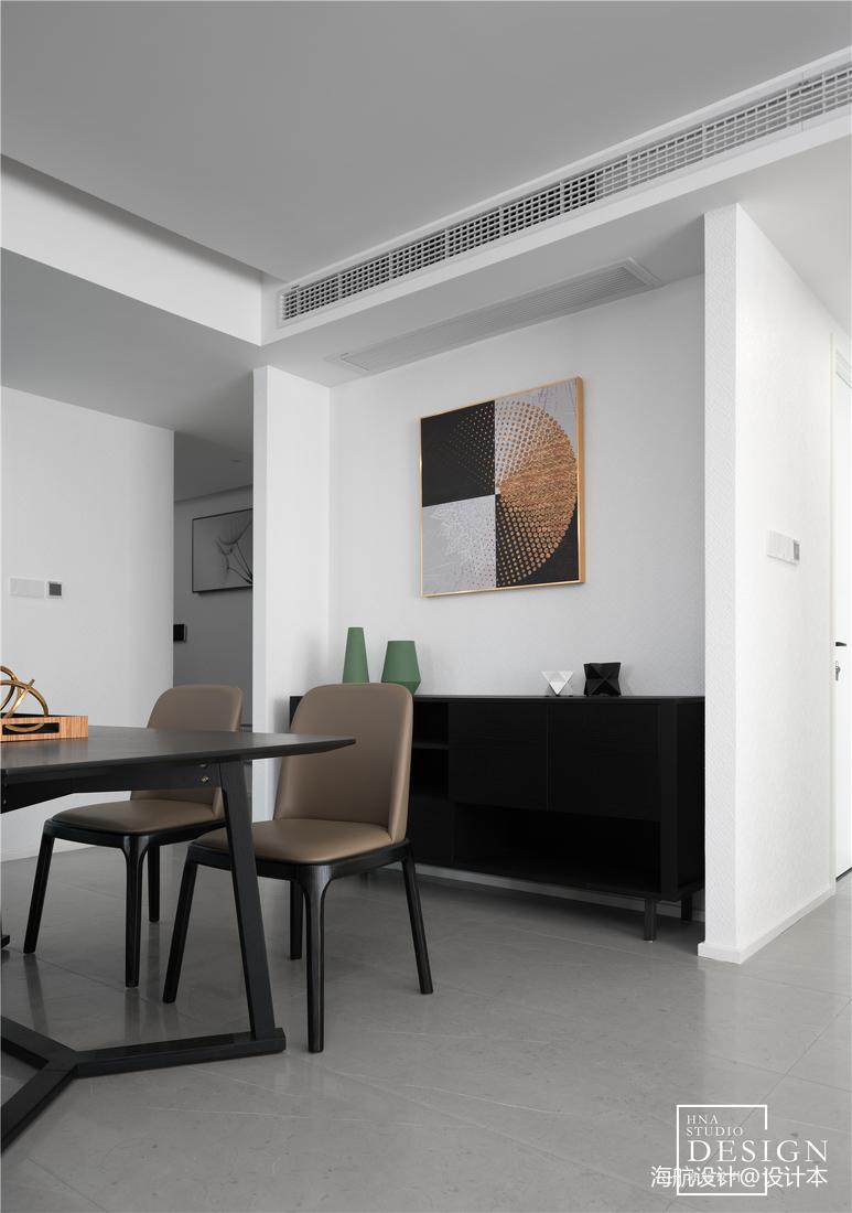 极简空间现代餐厅装饰画图片