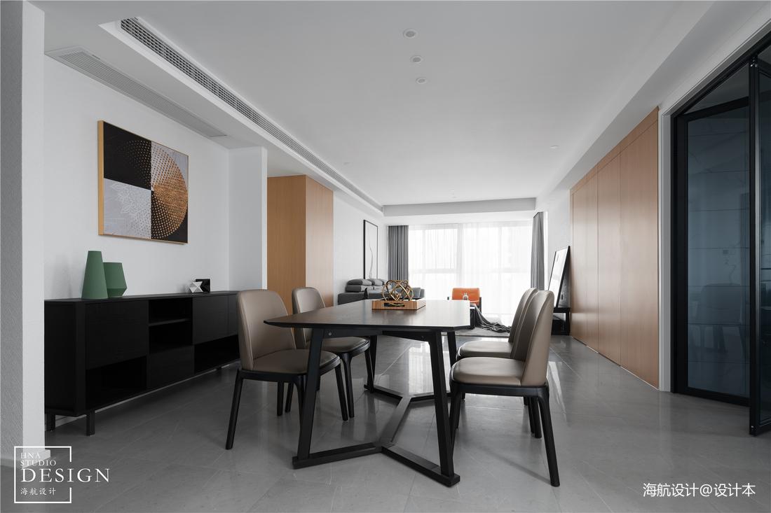 极简空间现代餐厅设计实景图片