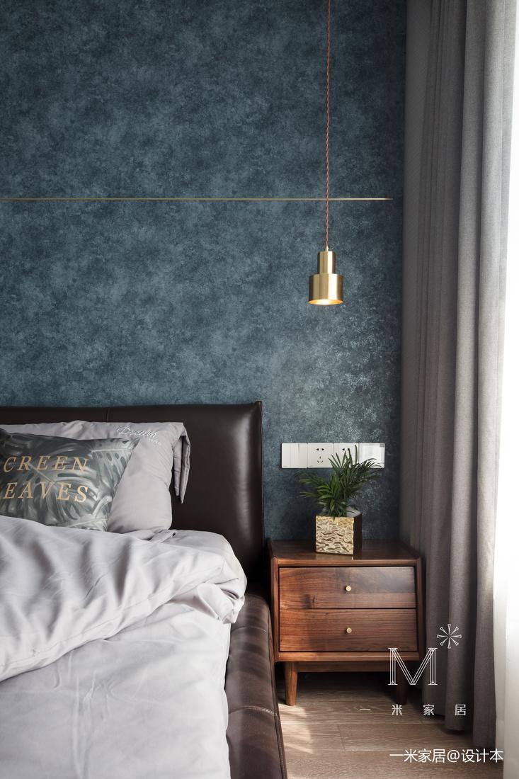华丽112平现代三居卧室装饰图
