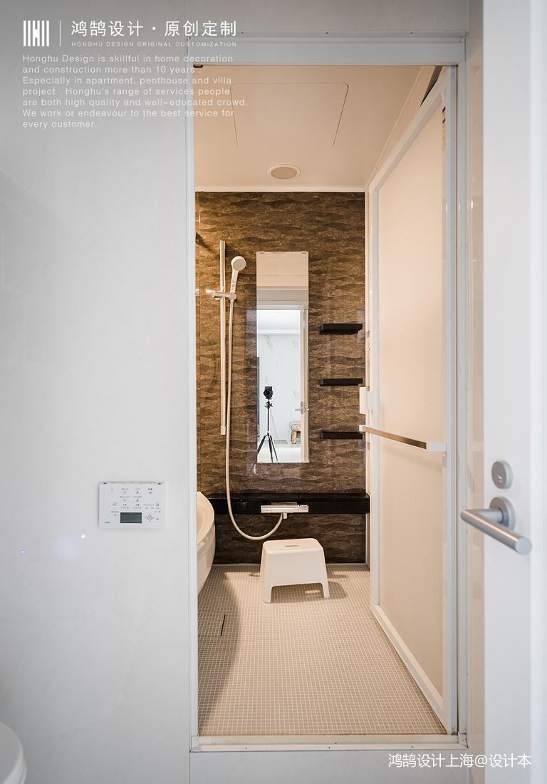 优雅38平日式小户型卫生间美图