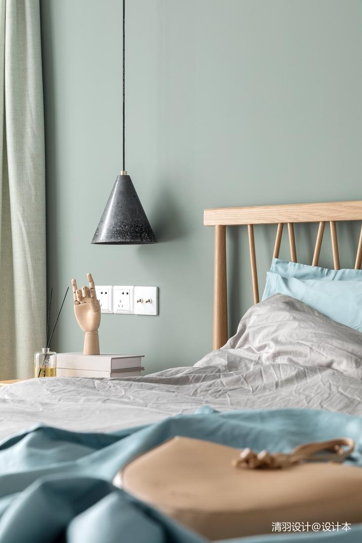 精美50平简约二居卧室设计案例