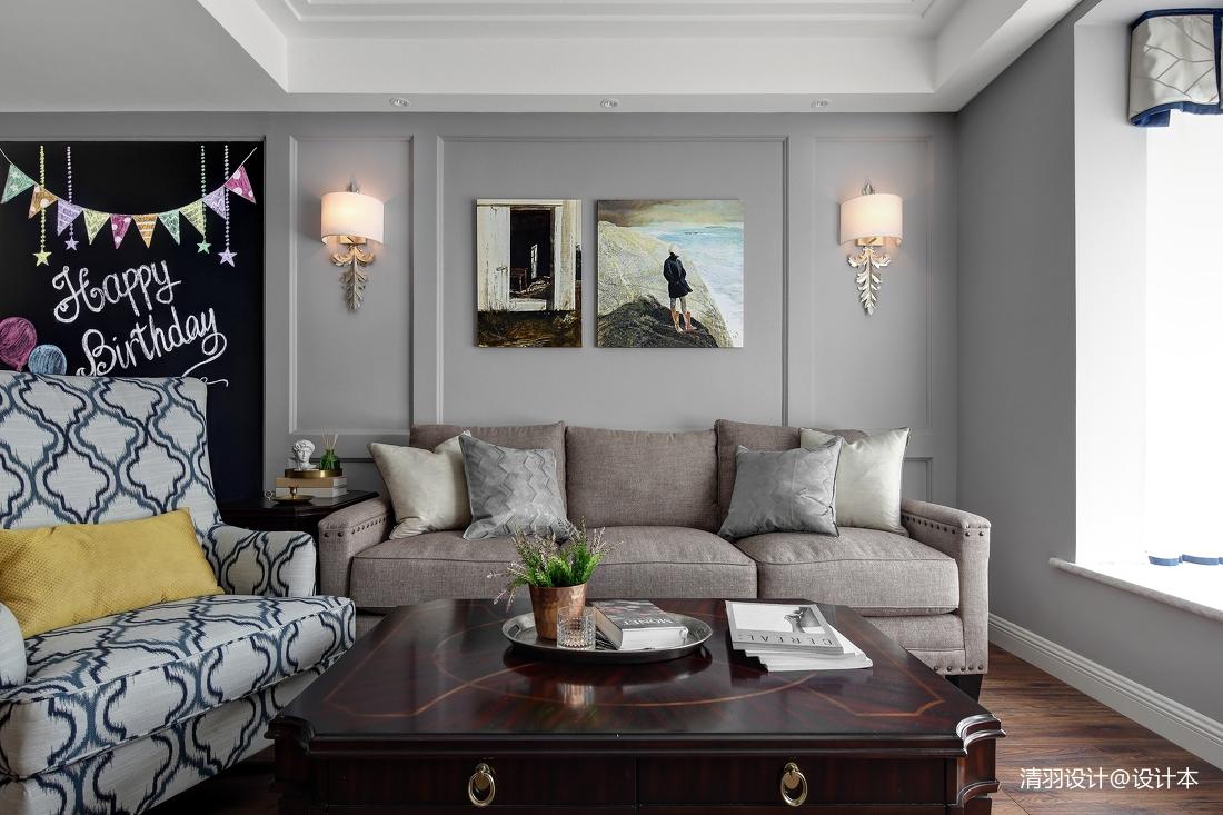 精美124平简约三居客厅美图