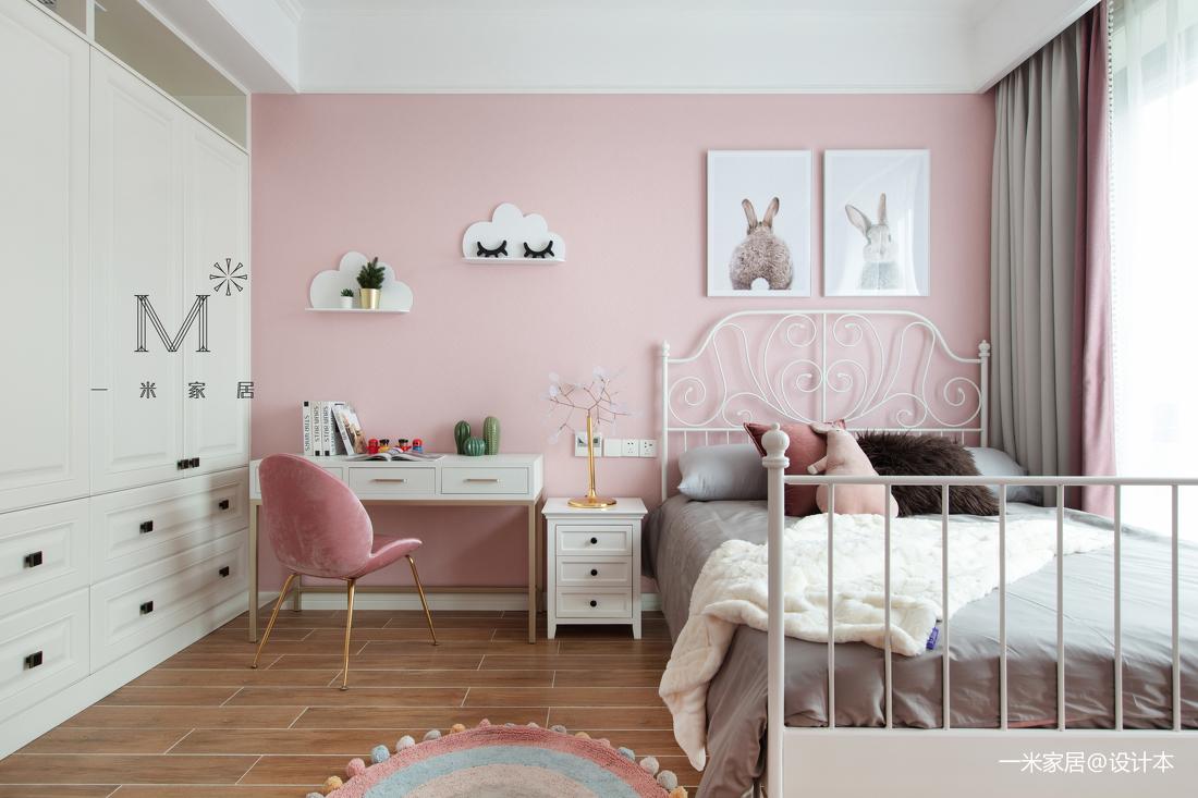 大气107平现代三居儿童房装修美图