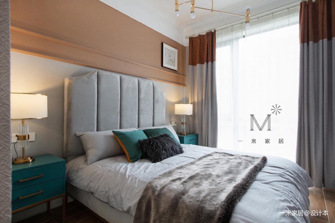 精致127平现代三居卧室装饰美图