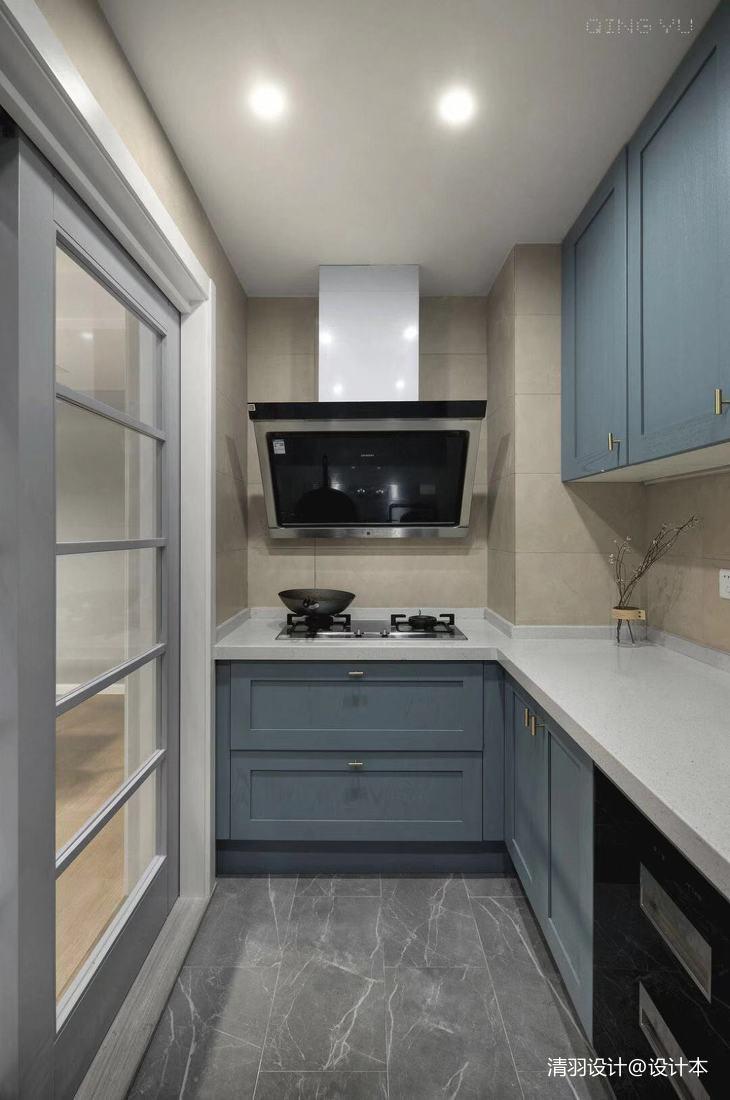 优美70平简约三居厨房设计案例