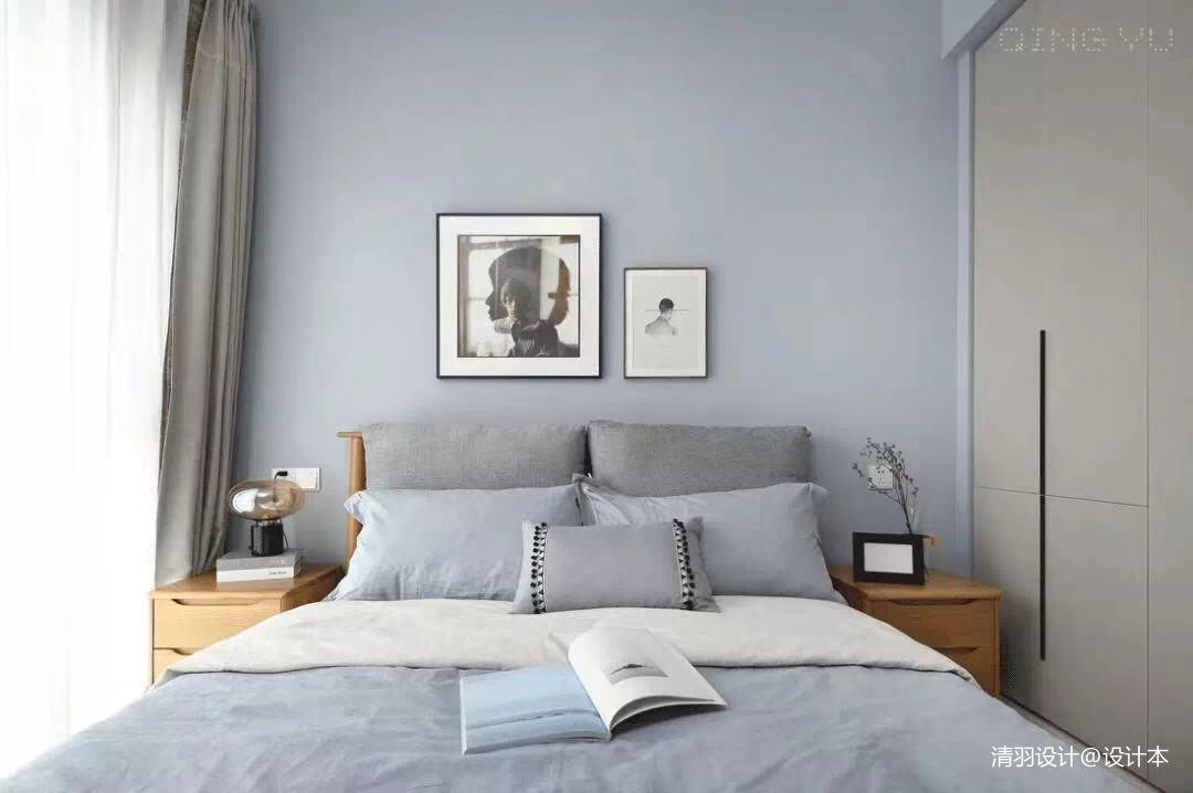 轻奢112平简约三居卧室设计美图