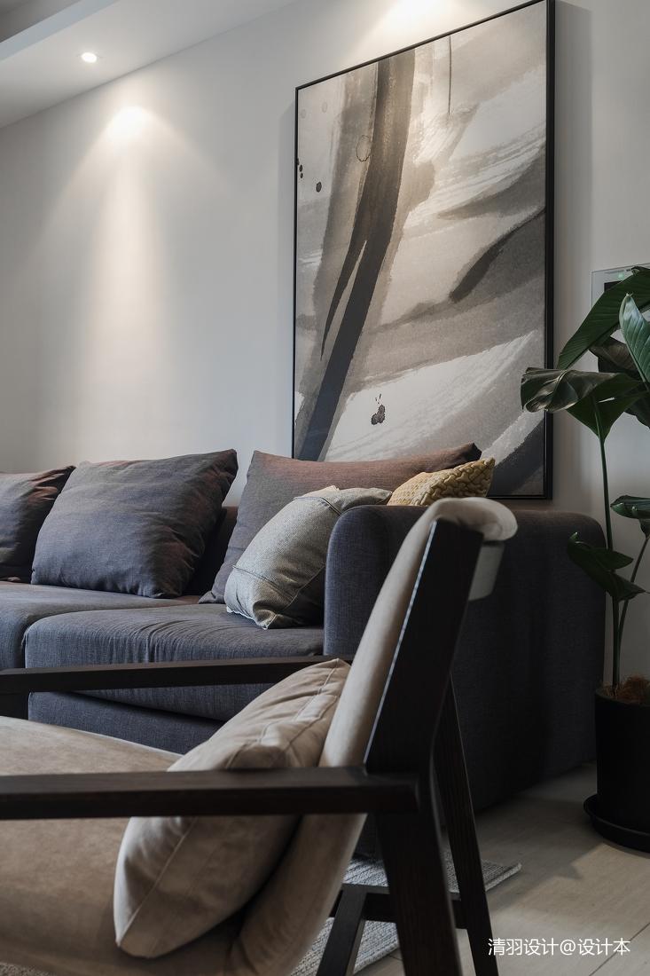 华丽116平现代三居客厅装饰美图