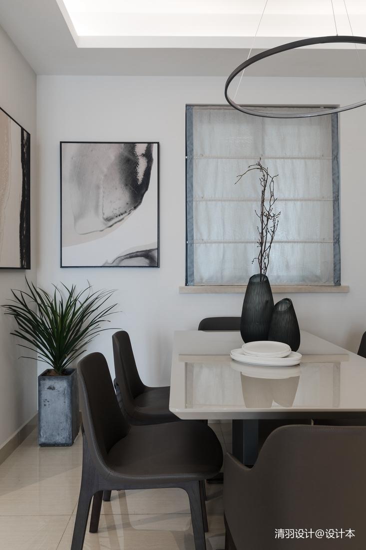 精致126平现代三居餐厅设计效果图