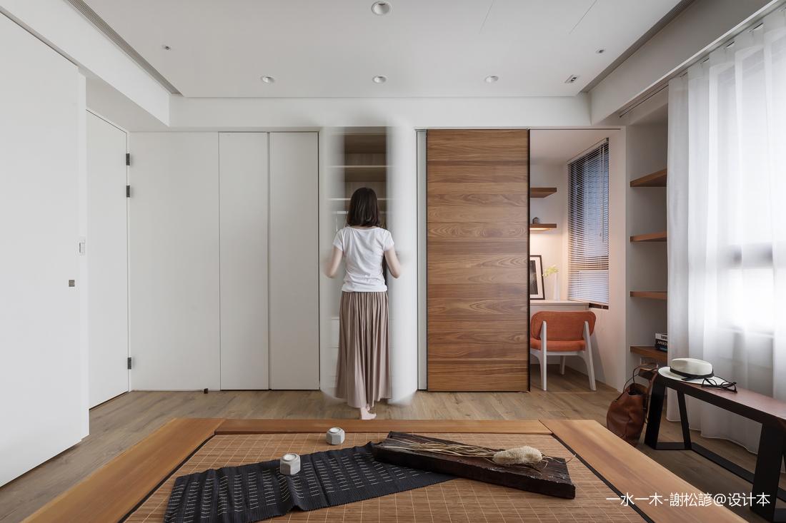 温馨122平中式四居卧室装饰图