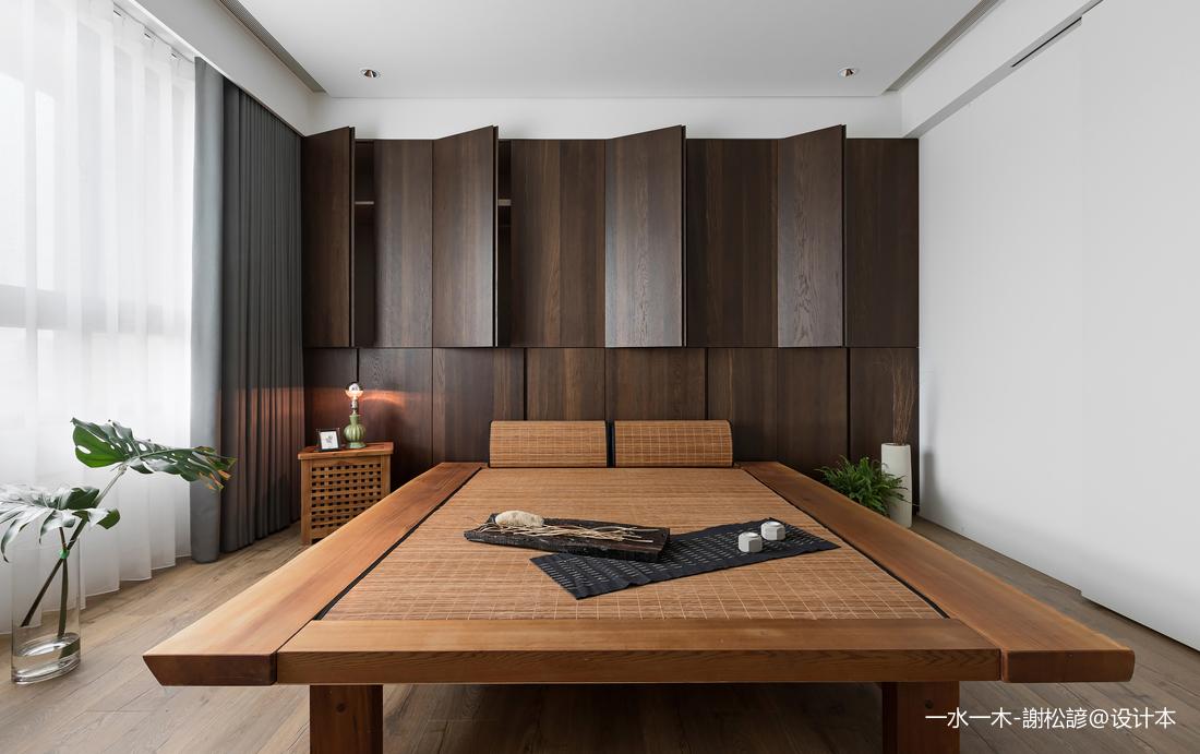 华丽159平中式四居卧室装修设计图