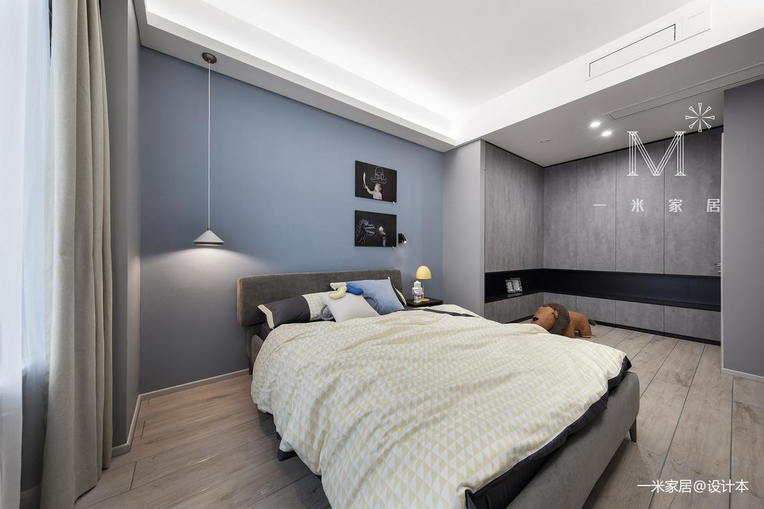 温馨124平简约四居卧室设计美图