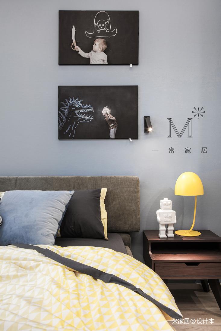 浪漫129平简约四居卧室实景图片