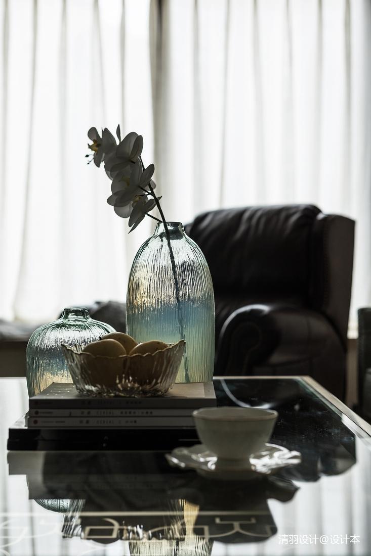 温馨123平简欧三居客厅实拍图