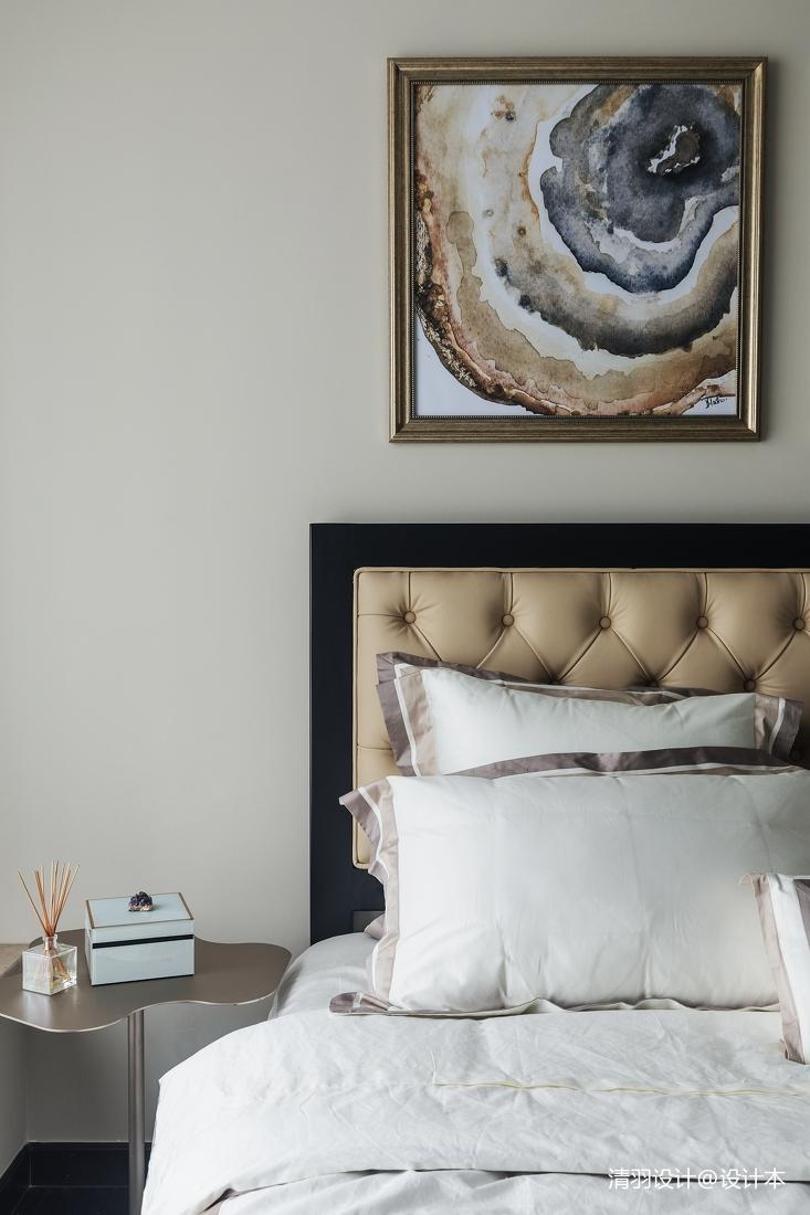质朴123平简欧三居卧室装修图片