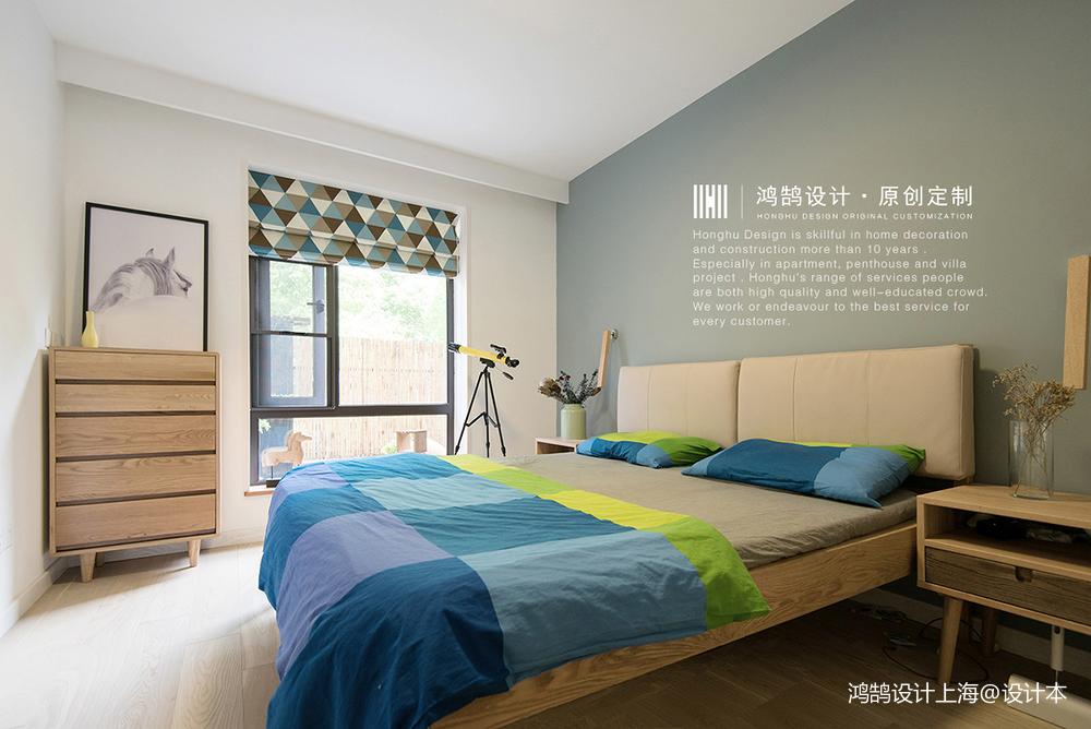 精美86平北欧二居卧室实拍图
