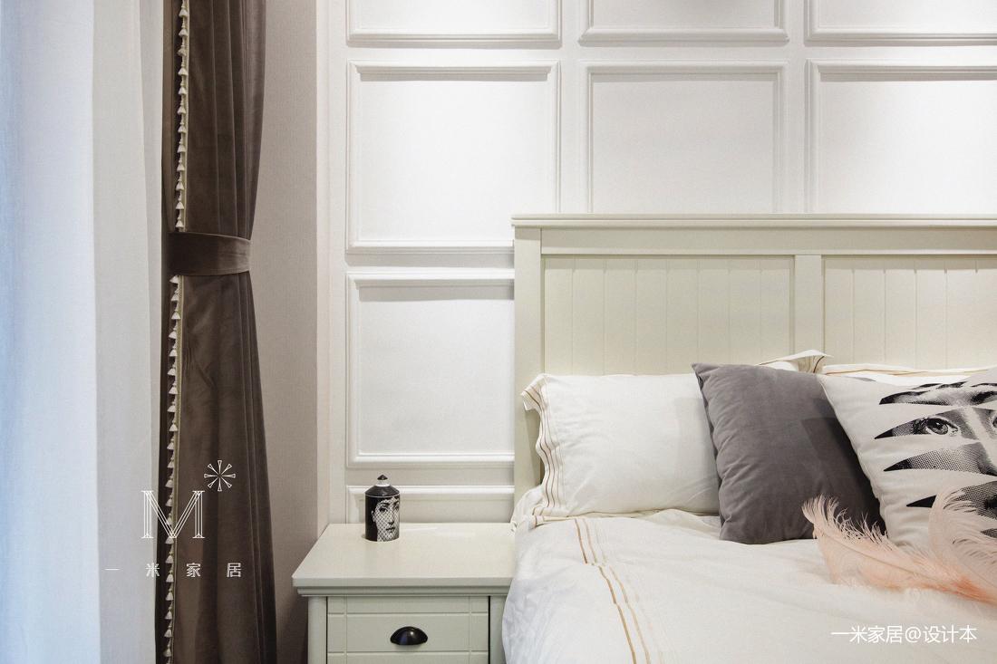 简洁81平美式二居装修设计图