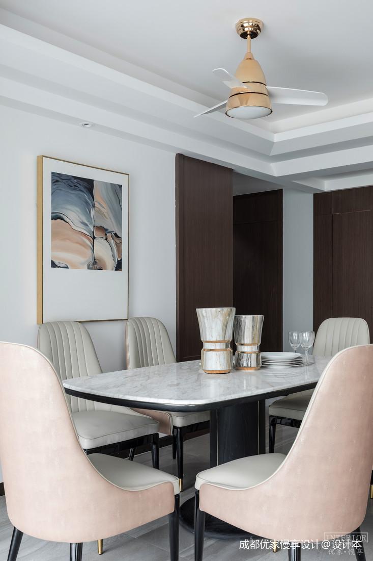华丽66平现代复式餐厅装修案例