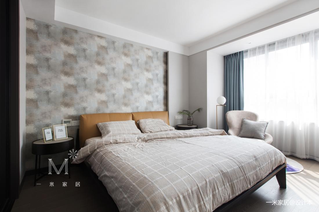 大气82平简约三居卧室装饰图片