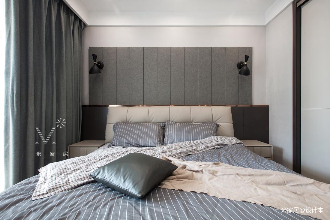 简洁80平简约三居卧室设计图
