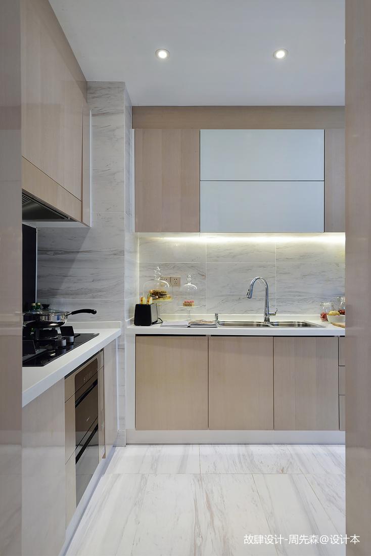优美312平现代样板间厨房设计效果图