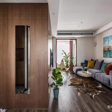 浪漫84平现代二居客厅装修美图