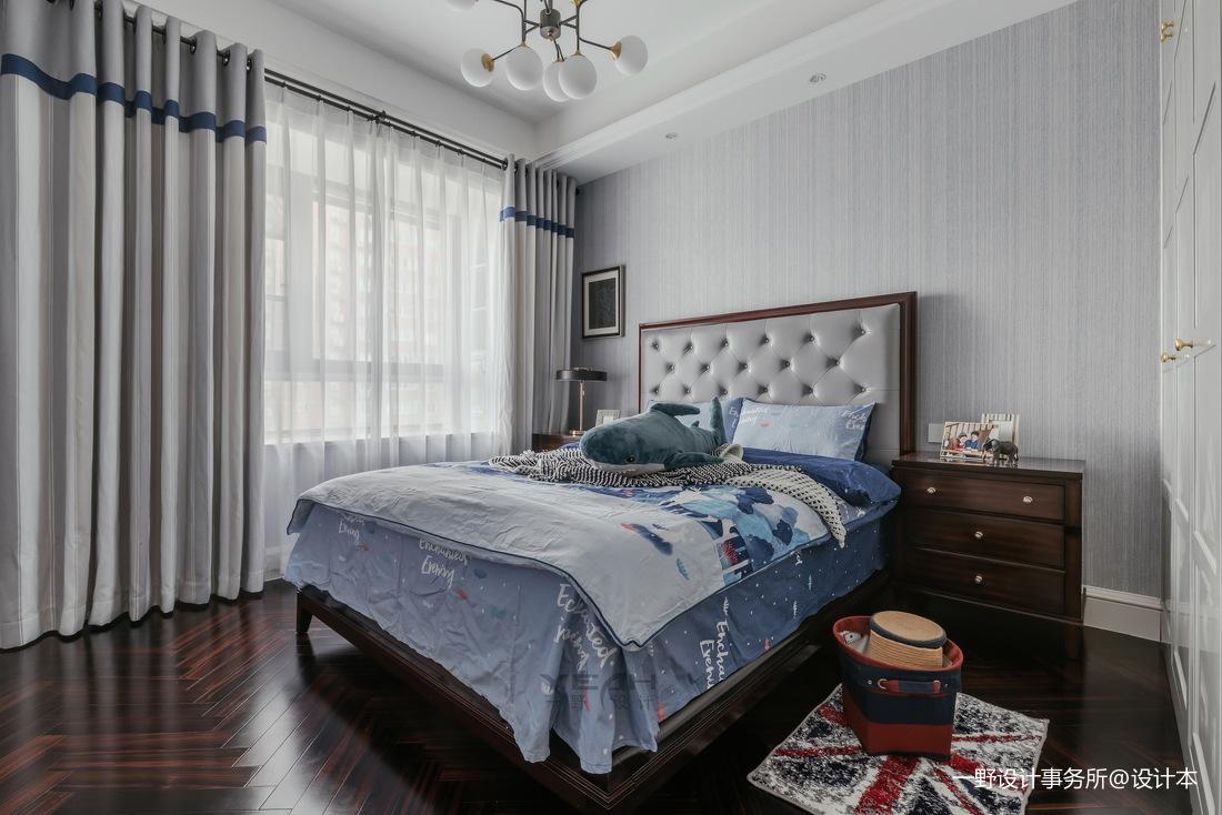 140m² 美式风卧室设计图