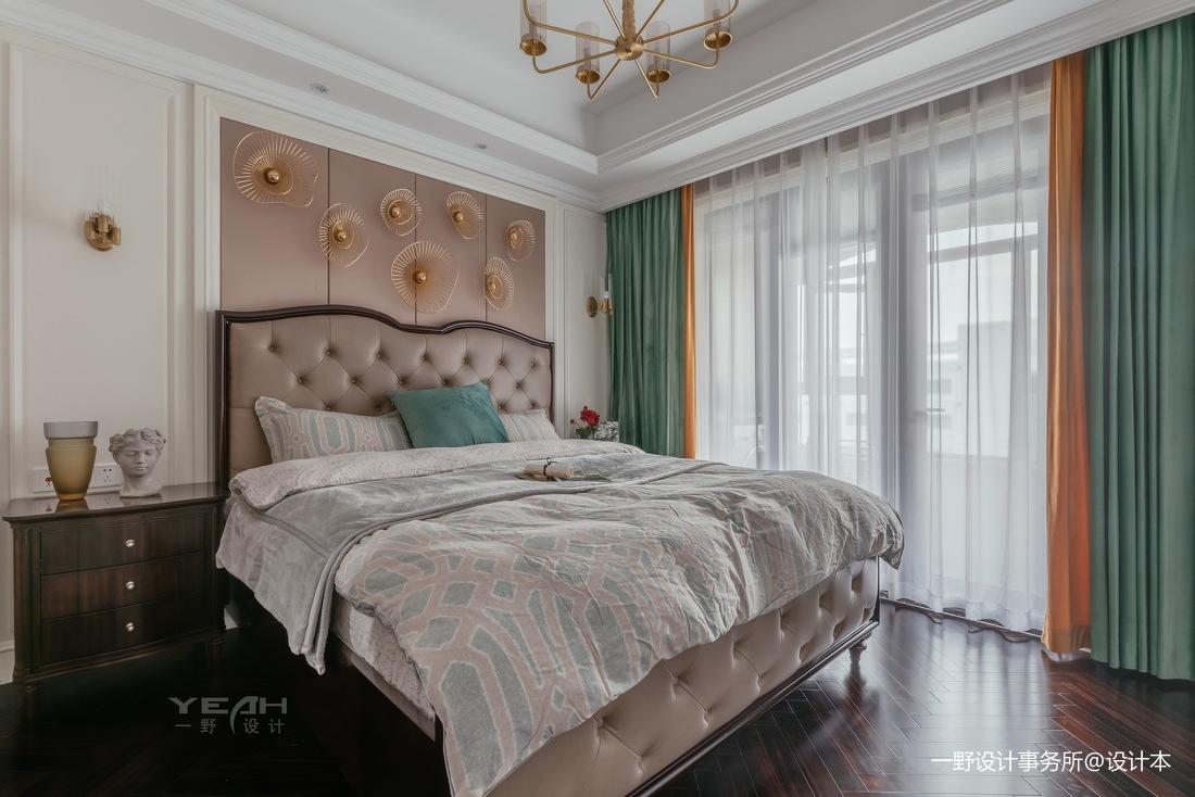 140m² 美式风卧室设计图片