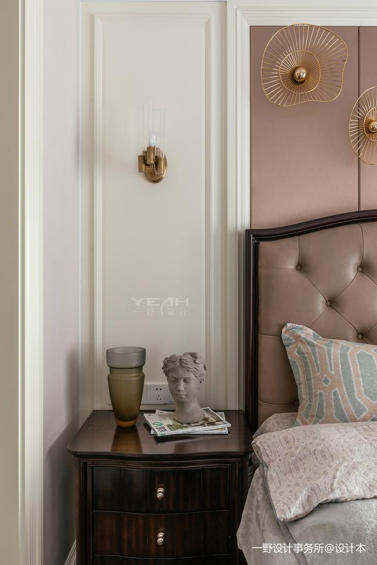 温馨64平美式复式卧室设计美图