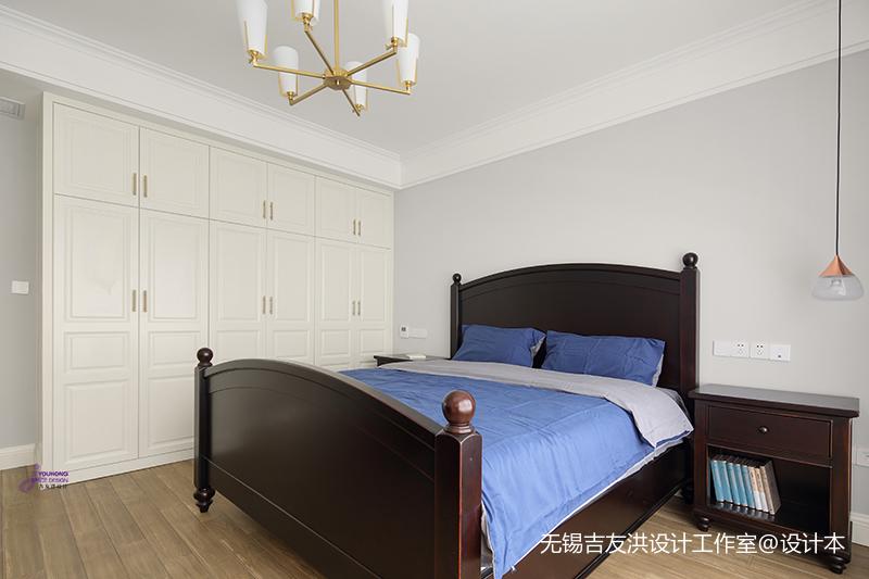 典雅61平美式复式卧室美图
