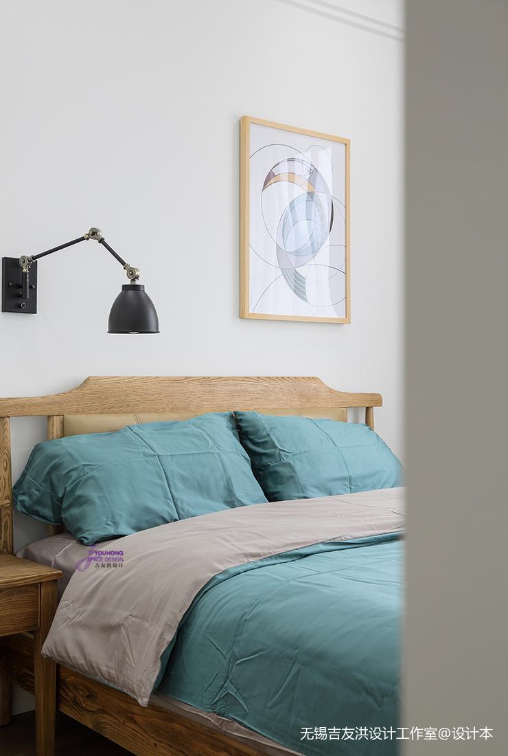 精美75平美式复式卧室装饰美图