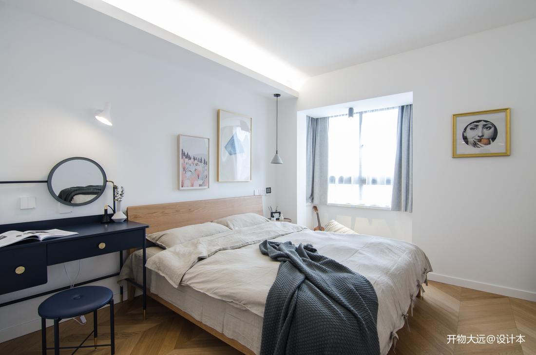 轻奢22平现代小户型卧室效果图片大全