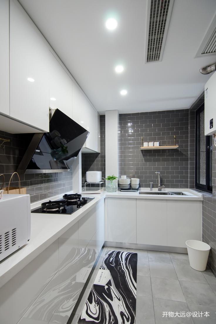 精致26平现代小户型厨房装修图