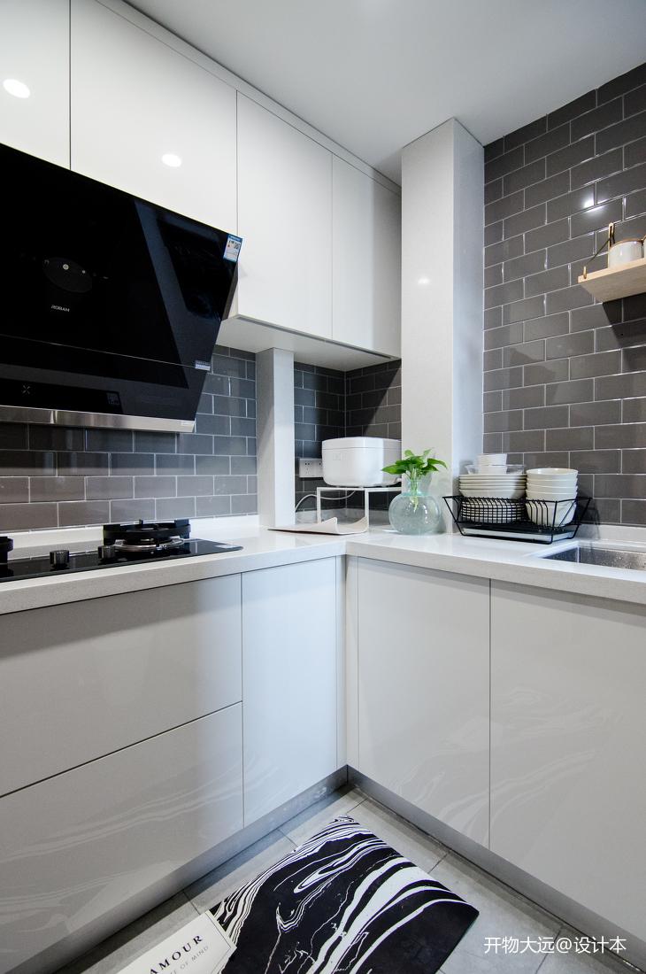 温馨25平现代小户型厨房装修图片