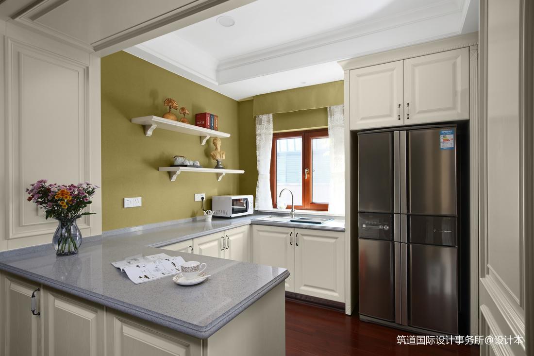 温馨685平美式别墅厨房装修设计图