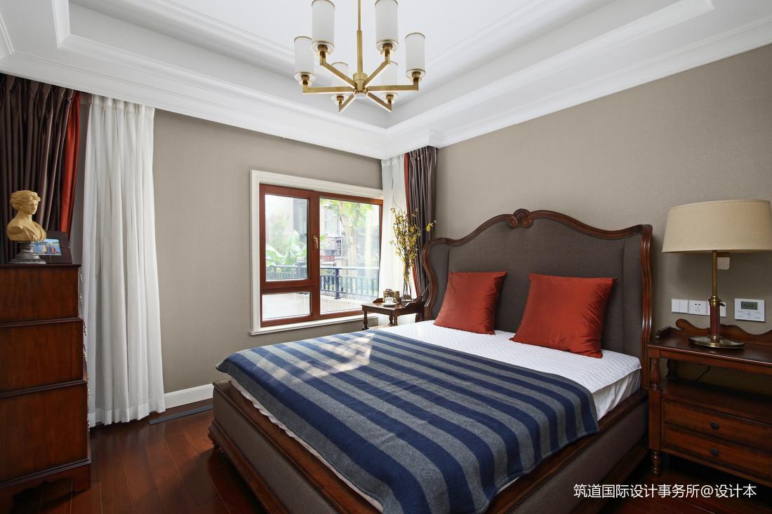 简洁731平美式别墅卧室美图