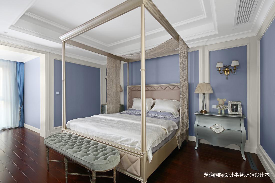 质朴420平美式别墅卧室案例图