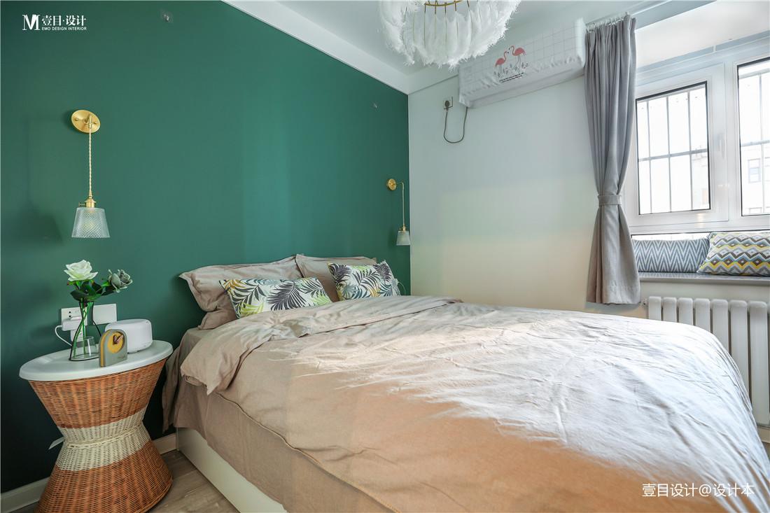 质朴34平北欧小户型卧室效果图片大全