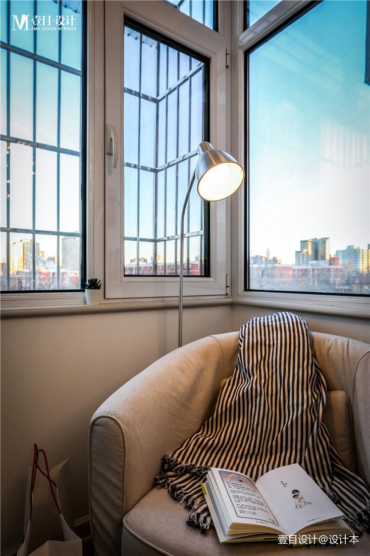 明亮30平北欧小户型阳台装潢图