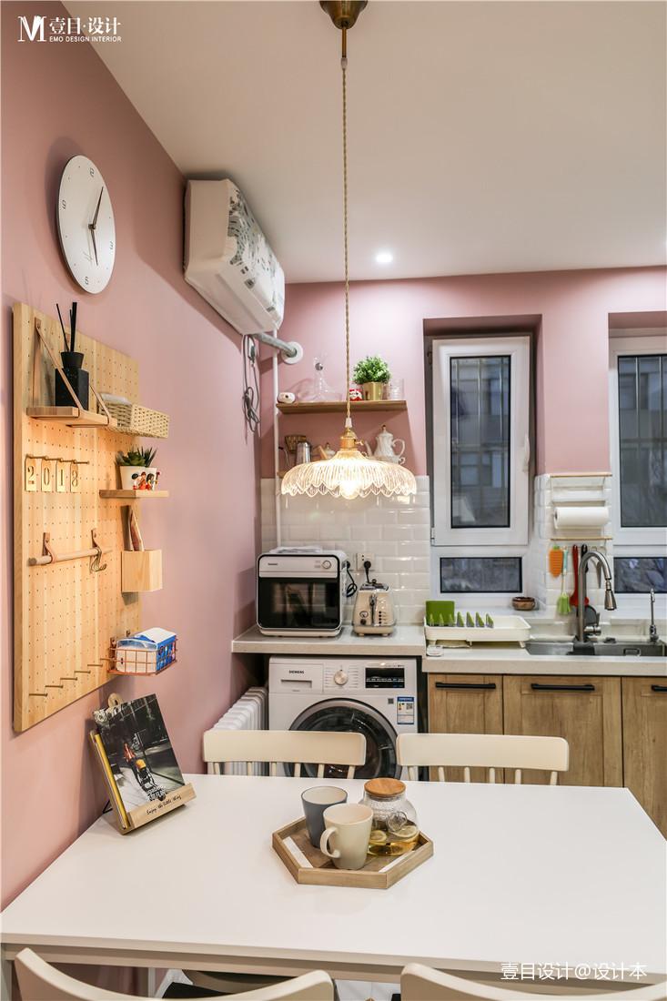 201929平北欧小户型厨房案例图