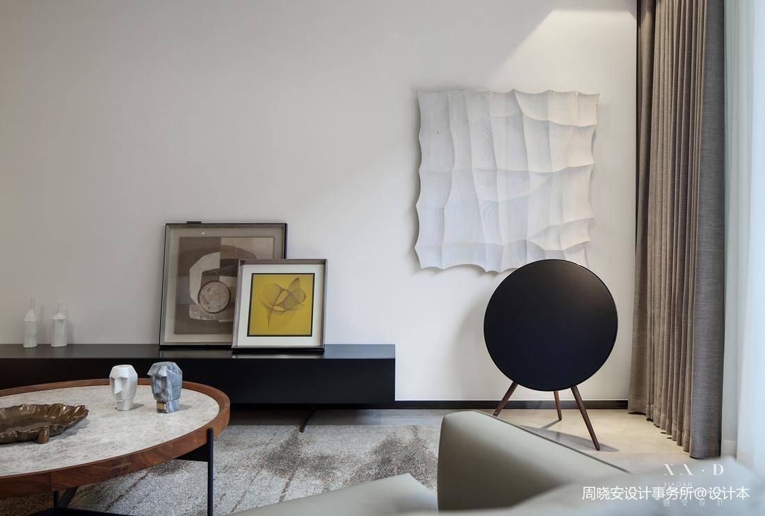 201956平现代复式客厅装修装饰图