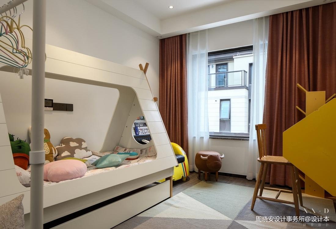 温馨76平现代复式儿童房效果图片大全