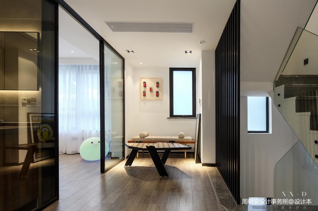 轻奢66平现代复式休闲区设计效果图