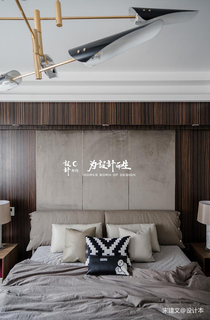 温馨387平现代别墅卧室装修设计图