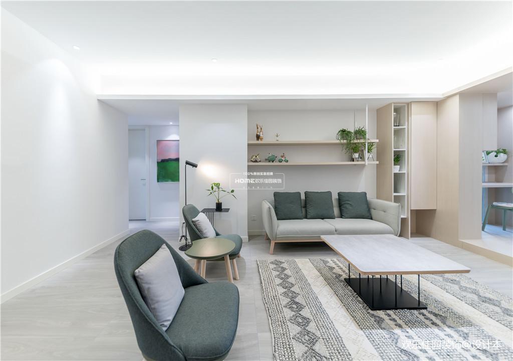 欢乐佳园装饰|从房子变成家,客厅实用性最大化的布局方法_3530234