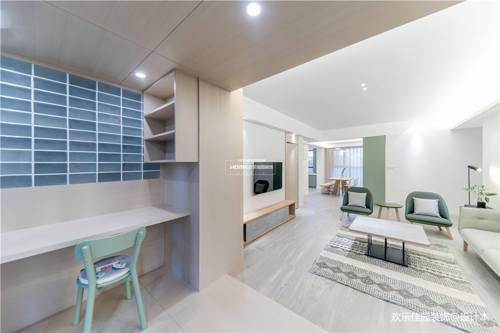 欢乐佳园装饰|从房子变成家,客厅实用性最大化的布局方法_3530236