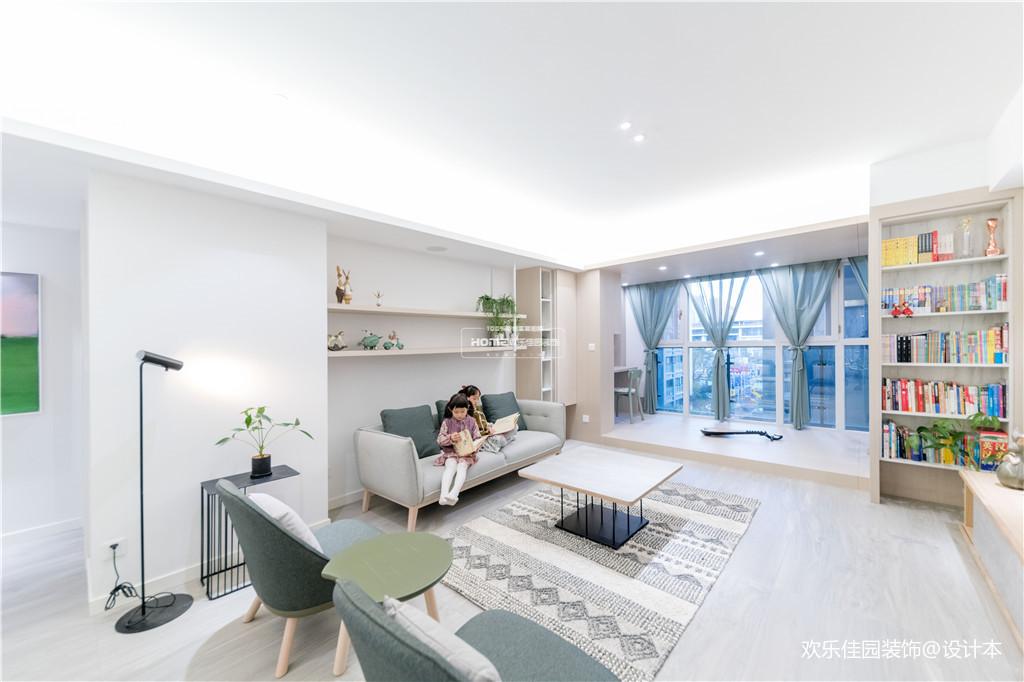 欢乐佳园装饰|从房子变成家,客厅实用性最大化的布局方法_3530240