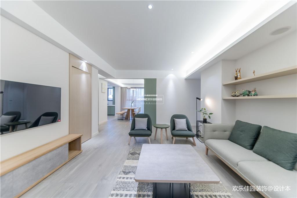 欢乐佳园装饰|从房子变成家,客厅实用性最大化的布局方法_3530242