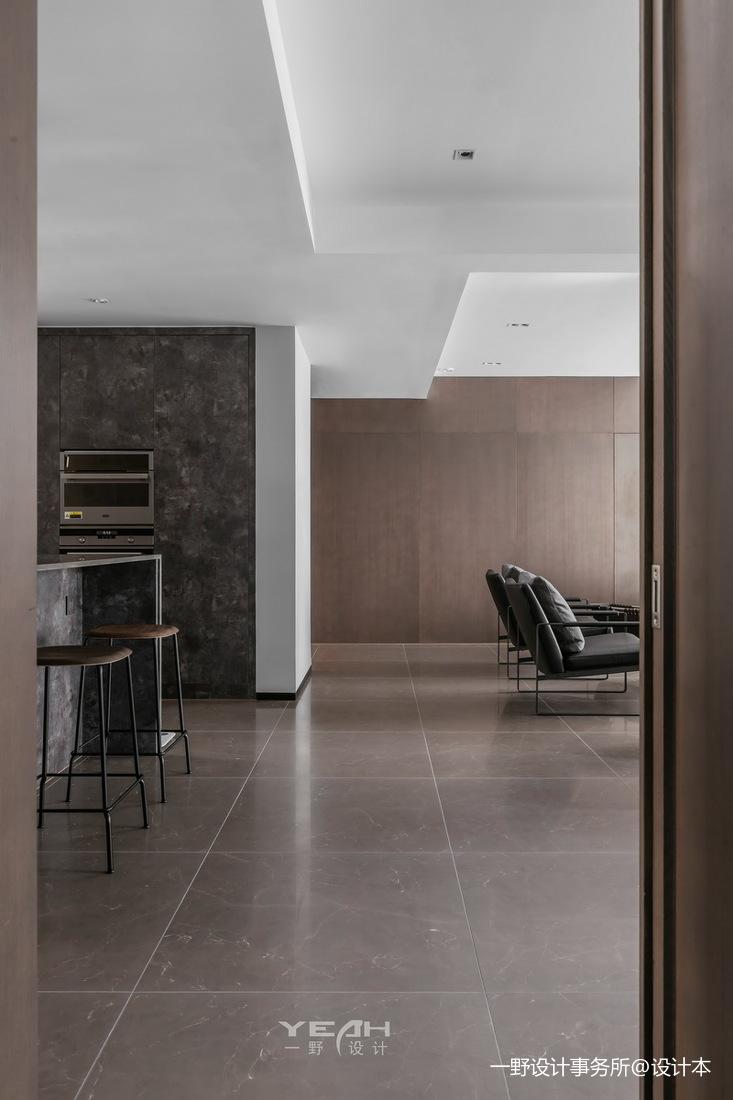 简洁69平现代二居客厅设计效果图