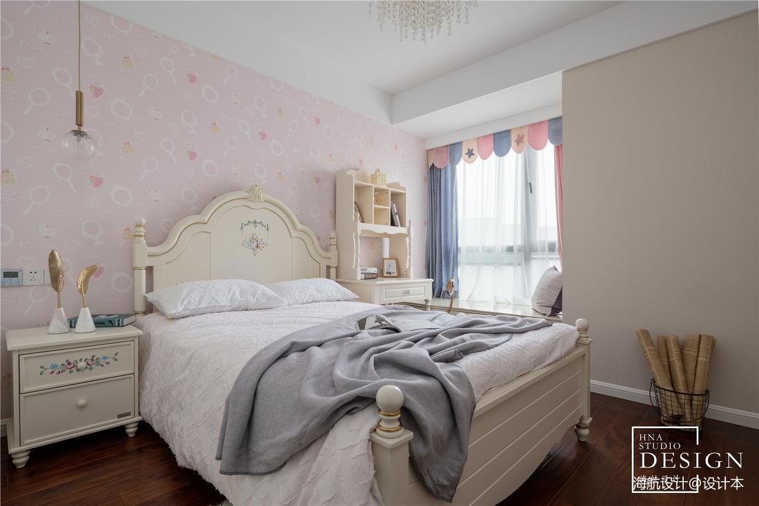 用设计拉近家的距离,现代美式如此甜蜜优雅_3530336