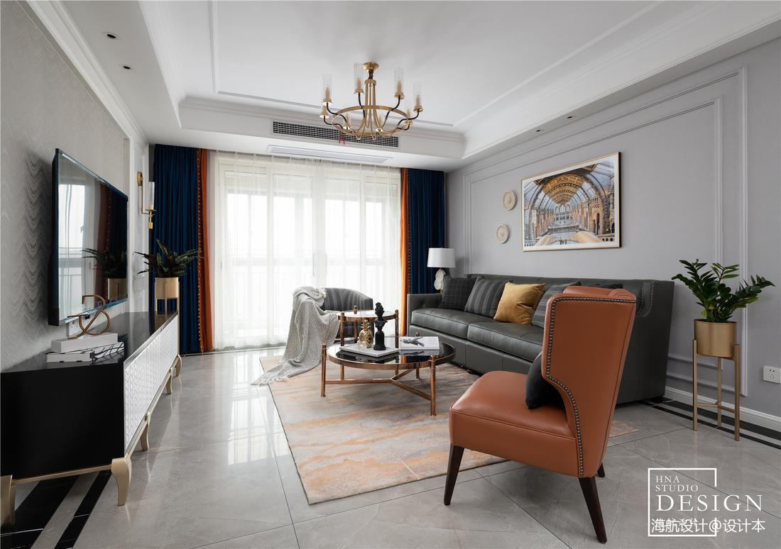 用设计拉近家的距离,现代美式如此甜蜜优雅_3530338